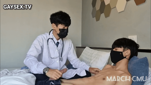 Doctor and his patient